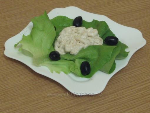 Salată de icre de crap