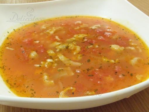 Supă de roşii cu orez