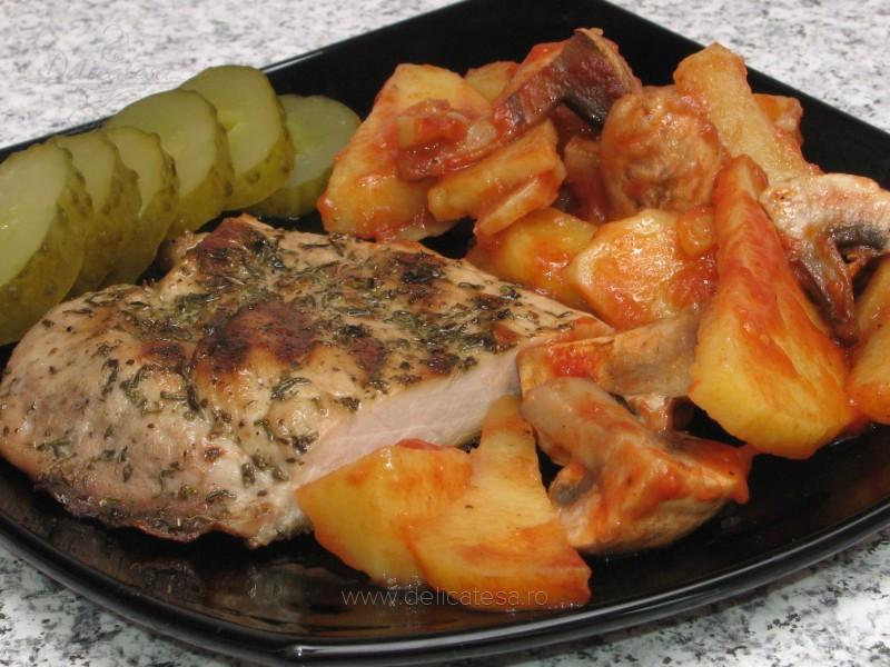 Carne de porc la grătar