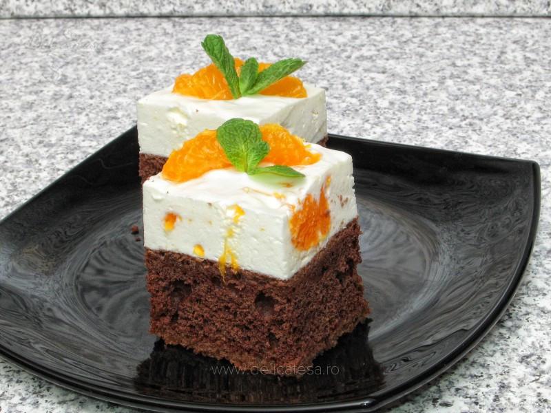 Prăjitură cu mandarine