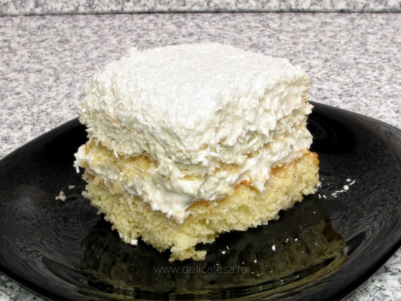 Prăjitură Rafaelo