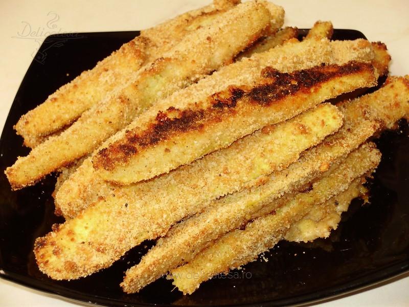 Crochete de dovlecei cu brânză