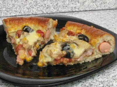 "Pizza ""hot dog"""