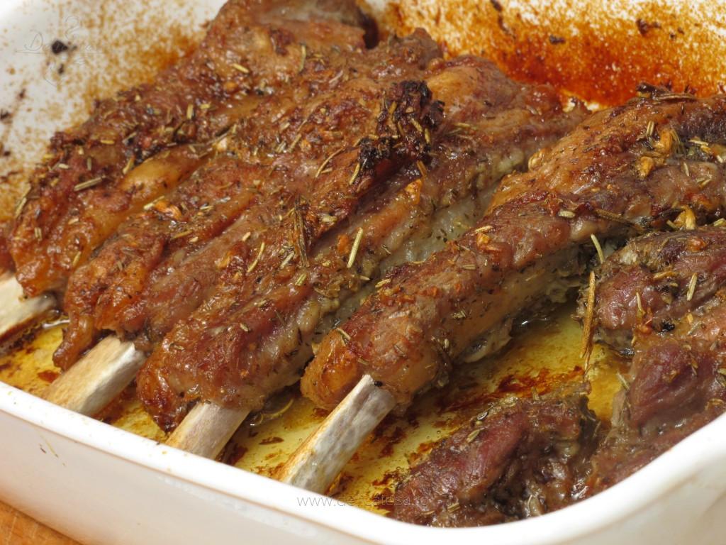 Coaste De Porc La Cuptor Reţetă Culinară