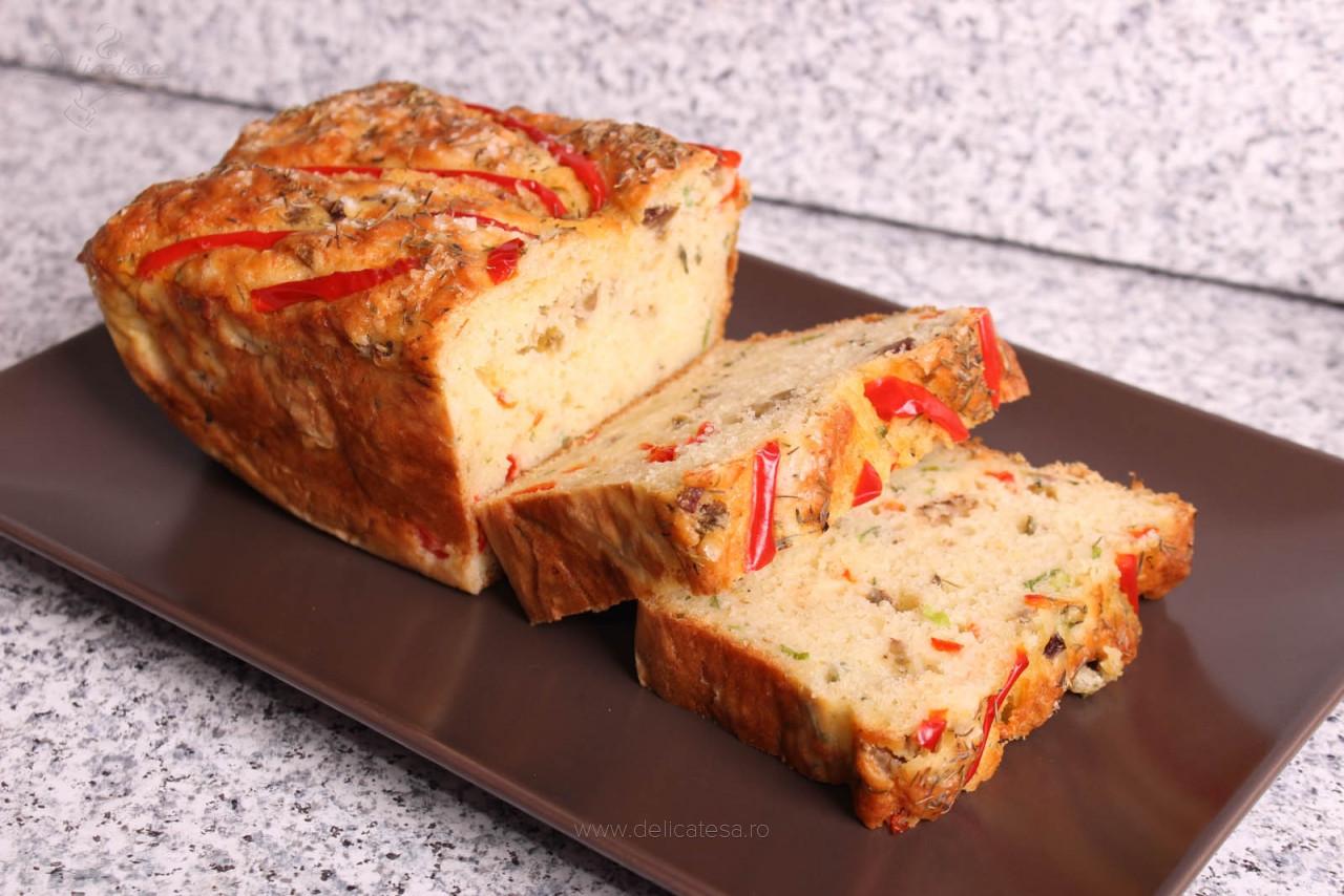 Pâine cu măsline verzi