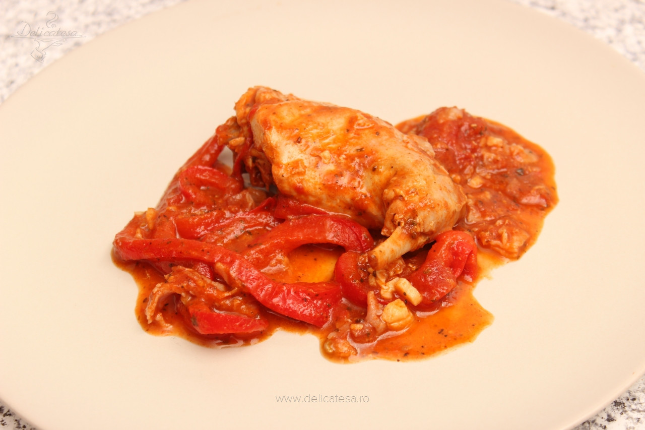 Iepure cu arome italiene
