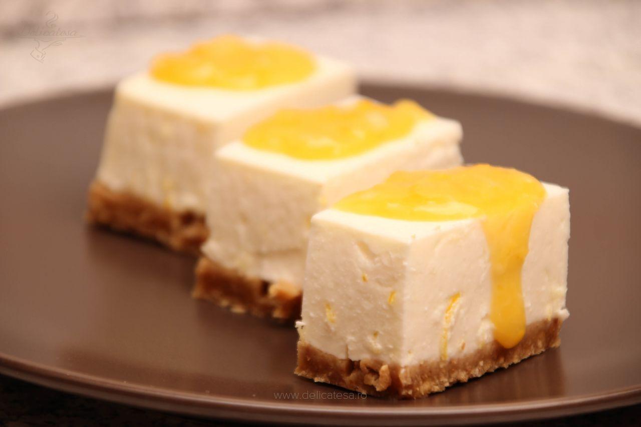 Cheesecake cu lămâie