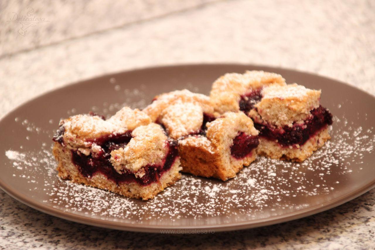 Prăjitură cu mure